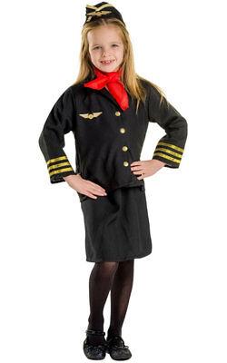 Dress Up America Flight Attendant Stewardess Toddler Child - Toddler Girl Dress Up