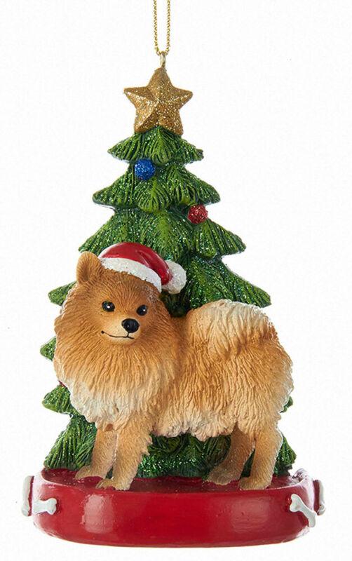 Pomeranian Christmas Tree Ornament