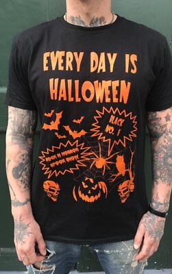 Everyday Is Halloween Tee - Halloween, Type O Negative, Ministry - Halloween Ministry