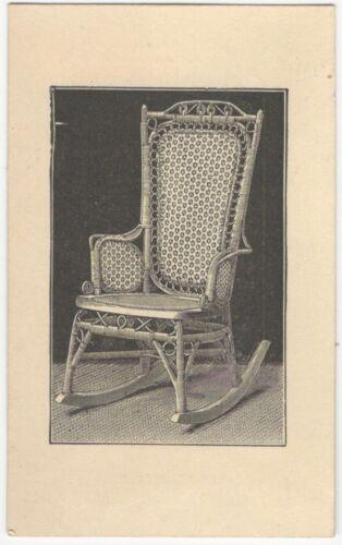 1880s Wakefield Rattan Company Rocking Chair Trade Card (Pre- Heywood-Wakefield)