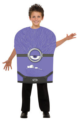 Boys Despicable Me Evil Minion Halloween - Evil Purple Minion Halloween Costume