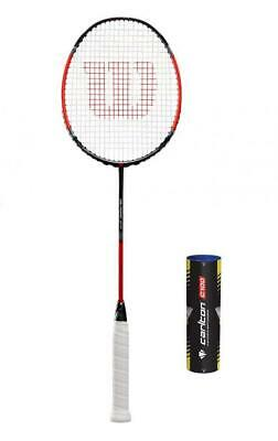 RRP £200 TACTIC VOYAGER 80 BADMINTON RACKET WITH YONEX OR ASHAWAY STRINGS