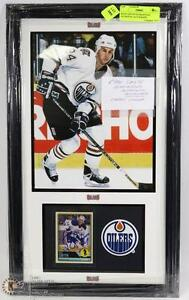 ALL  EX NHL PLAYERS AND CURRENT FRAMED WITH THEIR COA ($100.00)EACH