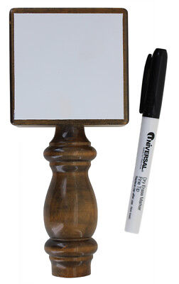 White Board Dry Erase Beer Tap Handle