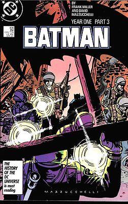 "BATMAN #406 UNGRADED NM/M NOT CGC  PART 3 OF ""YEAR"" 1 STORYLINE"