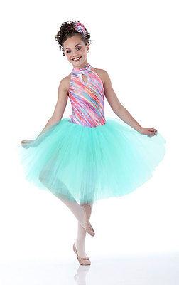 Sugar Plum Nutcracker Dance Ballet Tutu Costume Mint Christmas Child & Adult