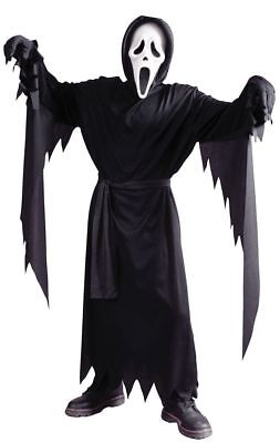 Scream Halloween Costumes Kids (Scream Classic Ghost Face Child Costume Fun World Boys Halloween Kids)