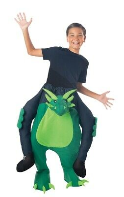 Carry Me Dragon Child Boys Costume Dinosaur Rider Riding Halloween - Dragon Rider Halloween Costume