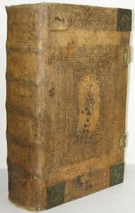 Weimarer Kurfürstenbibel Nürnberg Endter 1765 geprägtes Schweinsleder Kupfertaf