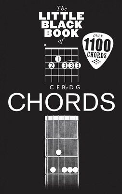 Little Black Book of Chords Sheet Music The Little Black SongBook NEW 014042423
