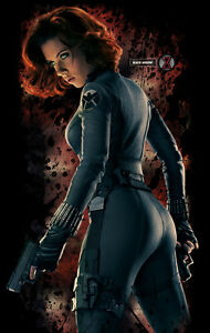 Scarlett johansson black widow poster - photo#11