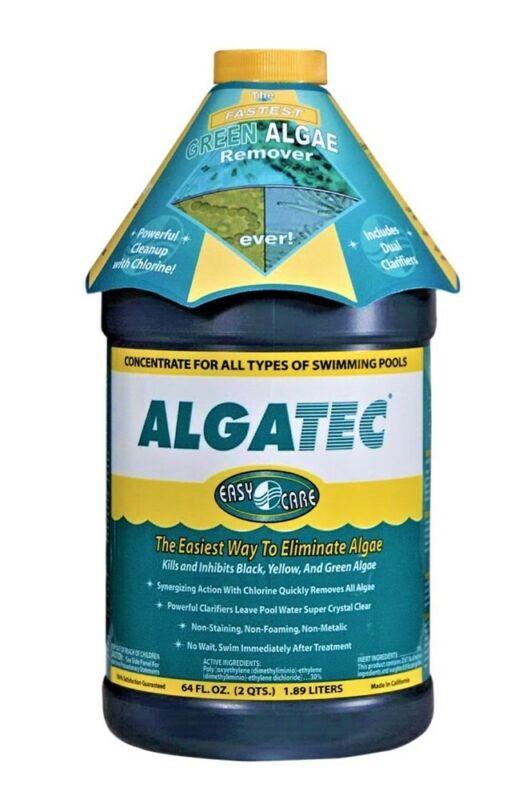 McGrayel Algatec 10064 Super Algaecide for Green, Yellow and Black Algae, 64 Oz