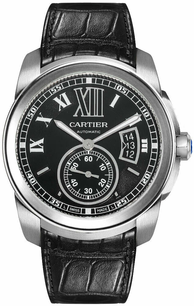 Cartier Calibre de Cartier Automatic Date Black Dial W7100014 - watch picture 1