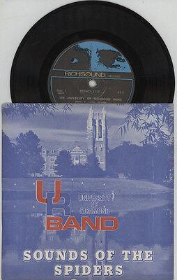VTG 1970 UNIVERSITY OF RICHMOND,VIRGINIA,VA.33 rpm VINYL RECORD,BAND,GLEE CLUB