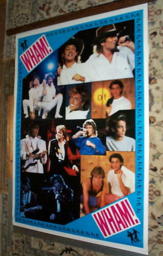 WHAM George Michael  Vintage  GIANT POSTER