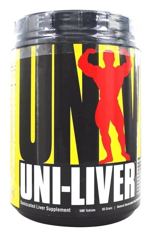 Universal Nutrition Uni-liver High Protein Desiccated Liv...