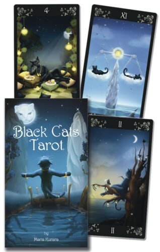 Black Cats Tarot Deck Lo Scarabeo New Sealed