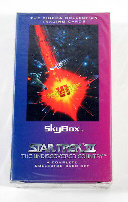 1994 Skybox Star Trek VI 6 The Undiscovered Country Factory Sealed Card Set (72)