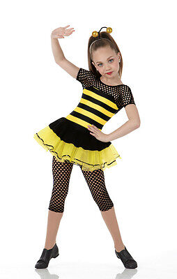 Honey Bee Ballet Tutu Jazz Tap Animal Dance Costume Halloween Child & Adult - Halloween Jazz Dance
