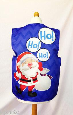 Santa Hoe Hoe Hoe Blau Sack Weihnachten Weste Kostüm Neuheit Geschenkidee Party