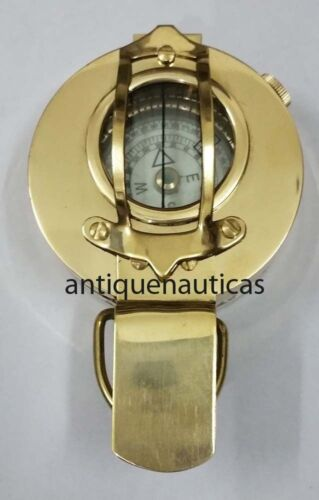 Knight Finish Beautiful Nautical Brass Military Prismatic Vintage Compass Gift