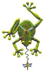 Allen Designs Frog Fly Clock New Original Packaging Funny Wall M.Suspension