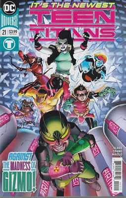 TEEN TITANS #21 AUG 2018 CRUSH DC COMIC BOOK MADNESS OF GIZMO NEW 1