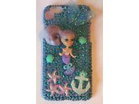 Customised mermaid doll iPhone 6/6s case