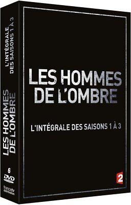 CAROLE BOUQUET - LES HOMMES DE L'OMBRE - SAISONS 1 A 3 - 6 DVD NEUF CELLO