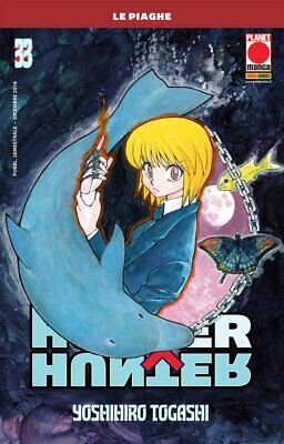 Hunter X Hunter N° 33 Reimpresión - Planet Manga - Italiano Nuevo...