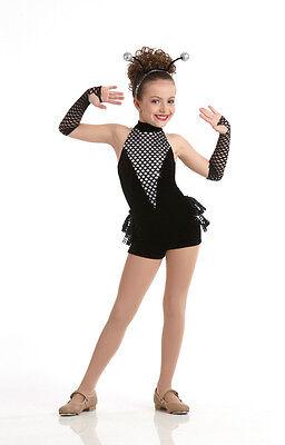 Spider Jazz Tap Dance Ballet Costume Animal Halloween Child XS S Adult Large (Halloween Ballet Dance)