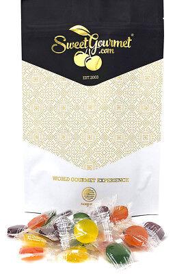 SweetGourmet Eda's Premium SUGAR FREE Hard Candy-Sour Mix - 15oz FREE - Sour Hard Candy