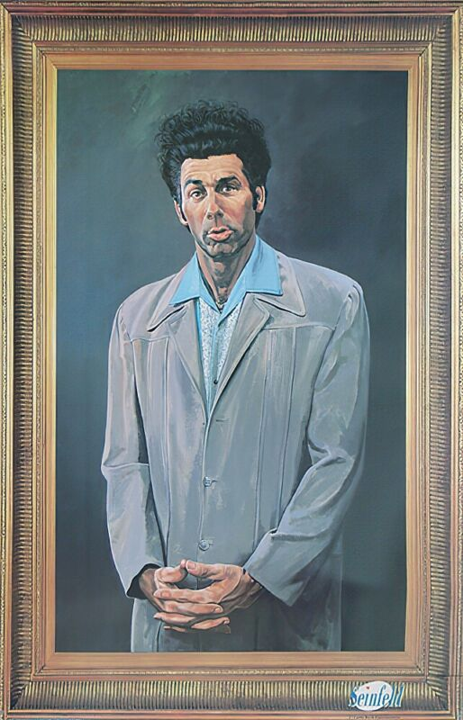 "Seinfeld - TV Show Poster / Print (Cosmo Kramer Portrait) (Size: 24"" X 36"")"