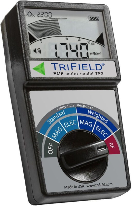 TriField EMF Meter Model TF2 - NEW! From makers of original Trifield Meter 100XE