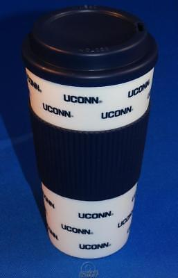 Huskies Cups - UCONN Connecticut Huskies 16 Oz Plastic Tumbler Travel Cup Hot/Cold Coffee Mug