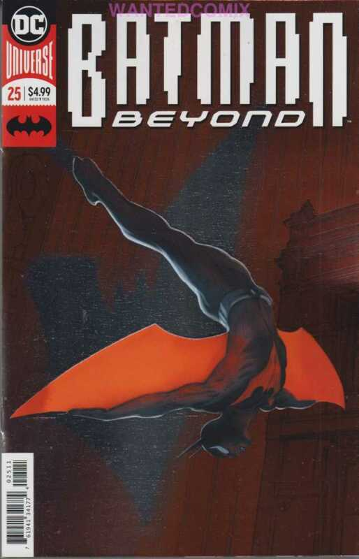 BATMAN BEYOND #25 FOIL VARIANT COVER OCT 2018 DC COMIC BOOK 1 FIRST PRINT NEW 1