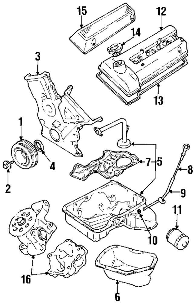 *NEW* Harmonic Balancer Crankshaft Pulley For Suzuki Grand