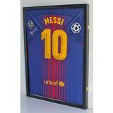 LOCKABLE Jersey Shadow Box Wall Display Case Frame 98% UV, Football Baseball