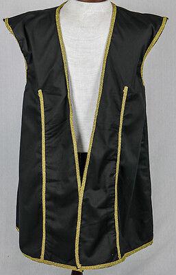Pirate Buccaneer Vest Men's Size Large Halloween Fantasy Cosplay Costume Vest