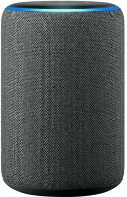 NEW Sealed Amazon - Echo (3rd Gen) Smart Speaker with Alexa - Charcoal