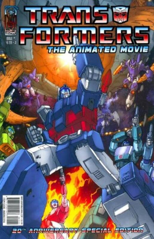 The Transformers: The Animated Movie #1 [Cover A]