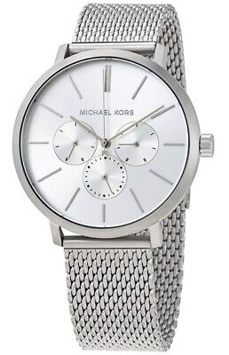 Michael Kors Men's Blake Silver Tone Mesh Watch - MK8677