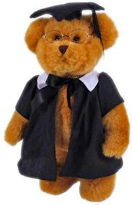 NEW TIC TOC TEDDIES GRADUATION BEAR TEDDY TOY COLLECTIBLE GRADUATE UNIVERSITY