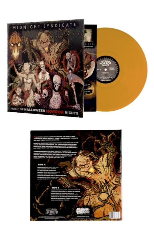 2021 Universal Studios Music of Halloween Horror Nights HHN Vinyl Album Record