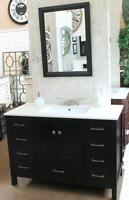 "The Stylish Hudson 48""w Vanity Set on Sale now ONLY $899/set!"