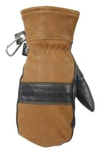 NEW Wells Lamont 7668XL HydraHyde Mens Full Grain Leather Waterproof Mitten, X-Large Condtion: New, X-Large, Chestnut