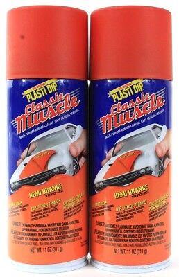 2 Plasti Dip Classic Muscle Hemi Orange 1970-72 Endless Possibilities 11 Oz