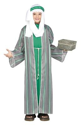 Childs Wise Man Shephard Naitivity 3 Kings Fancy Dress Outfit Costume (3 Wise Man Kostüm)