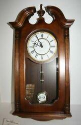 Howard Miller Danwood Westminster Chime Wall Clock Model #612-697