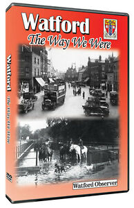 Watford The Way We Were DVD produced with The Watford Observer